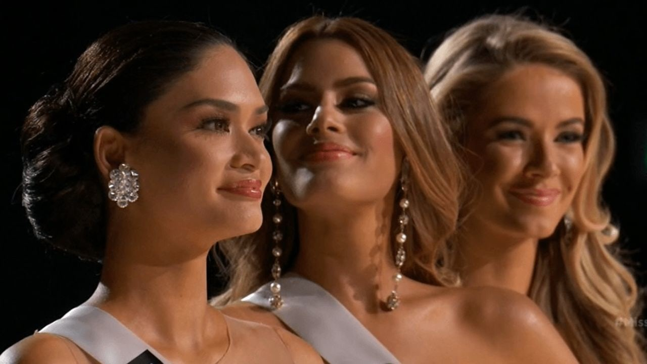 Miss Universe 2015 Top 3: Miss USA, Miss Colombia, Miss Philippines